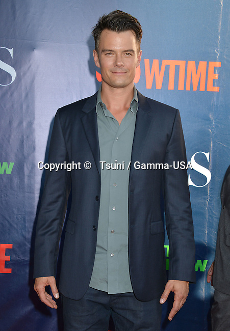 Josh Duhamel  at the CBS tca Summer Press Tour 2014 at the Pacific Design Center in Los Angeles.