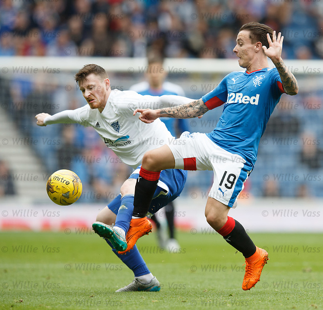 Barrie McKay and Shane Sutherland