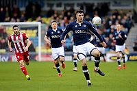 Jake Cooper of Millwall in action during Millwall vs Brentford, Sky Bet EFL Championship Football at The Den on 10th March 2018