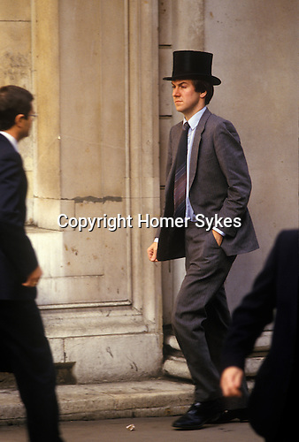 City of London  1980&rsquo;s<br />