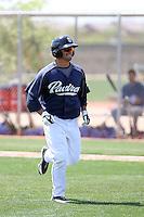 Kellen Kulbacki, San Diego Padres 2010 minor league spring training..Photo by:  Bill Mitchell/Four Seam Images.