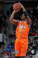 Valencia Basket Club's Thomas Kelati during Spanish Basketball King's Cup match.February 07,2013. (ALTERPHOTOS/Acero) /NortePhoto