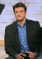 May 04, 2012 Nathan Fillion from ABC TV series Castle at Good Morning America dishes on the season finale of the series. New York City. Credit: RW/MediaPunch Inc.
