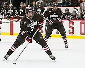 Tyler Bird (Brown - 7) - The Harvard University Crimson defeated the visiting Brown University Brown Bears 5-2 (EN) on Saturday, November 7, 2015, at Bright-Landry Center in Boston, Massachusetts.
