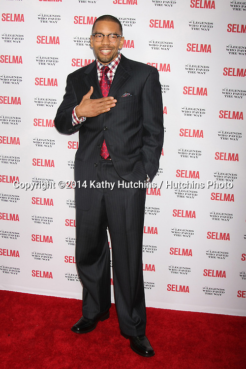 "SANTA BARBARA - DEC 6:  Nigel Thatch at the ""Selma"" & Legends Who Paved the Way Gala at the Bacara Resort & Spa on December 6, 2014 in Goleta, CA"