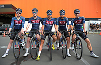 The JLT Condor team (Great Britain).The opening ceremony of the NZ Cycle Classic UCI Oceania Tour at Mitre 10 Mega in Masterton, New Zealand on Tuesday, 16 January 2018. Photo: Dave Lintott / lintottphoto.co.nz