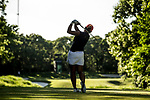 STILLWATER, OK - MAY 21: Bianca Pagdanganan tees off on the 15th hole during the Division I Women's Golf Individual Championship held at the Karsten Creek Golf Club on May 21, 2018 in Stillwater, Oklahoma. (Photo by Shane Bevel/NCAA Photos via Getty Images)