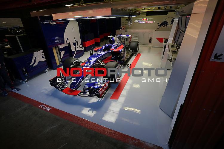 26.02.2017, Circuit de Catalunya, Barcelona, ESP, im Bild <br /> Der neue Formel 1 Rennwagen von Toro Rosso<br /> Foto &copy; nordphoto / Bratic