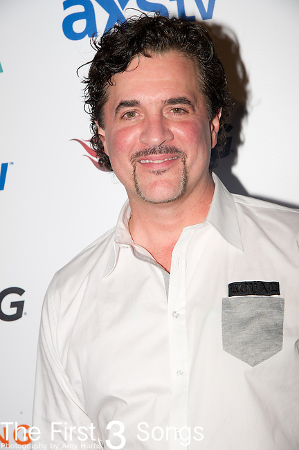 Scott Borchetta arrives at the ACM Experience Outnumber Hunger event at The Orleans Arena in Las Vegas, Nevada.