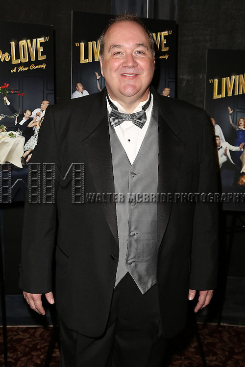 Blake Hammond attends the Broadway Opening Night Performance After Party for 'Living on Love' at Sardi's on April 20, 2015 in New York City.