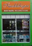 Bad Taste Record Shop, Reykjavik, Iceland.  (Bob Gathany)