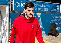 Fleetwood Town's Ashley Nadesan pictured before the match<br /> <br /> Photographer Andrew Kearns/CameraSport<br /> <br /> The EFL Sky Bet League One - Wycombe Wanderers v Fleetwood Town - Saturday 4th May 2019 - Adams Park - Wycombe<br /> <br /> World Copyright © 2019 CameraSport. All rights reserved. 43 Linden Ave. Countesthorpe. Leicester. England. LE8 5PG - Tel: +44 (0) 116 277 4147 - admin@camerasport.com - www.camerasport.com