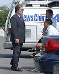 NY Post reporter Kiernan Crowley, at a press conference at NorthShore LIJ Southside Hospital in BayShore on Thursday August 18, 2005.(Newsday Photo / Jim Peppler).