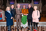 Presentation : World War Two Relic which was made by a prisoner of war being presented to Listowel parish  by Fionbar Walsh to Shane O'Donoghue, Chairman of the Listowel Pastoral Council after the 11.30 Mass in St. Mary's Church, Listowel on Sunday last. L-R: Liz & Gerry Griffin, Fionbar Walsh, Canon Declan O'Connor, Shane O'Donoghue & Joan Morrison.