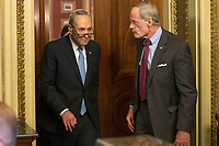 Democratic Caucus meeting as United States Government Shutdown Looms