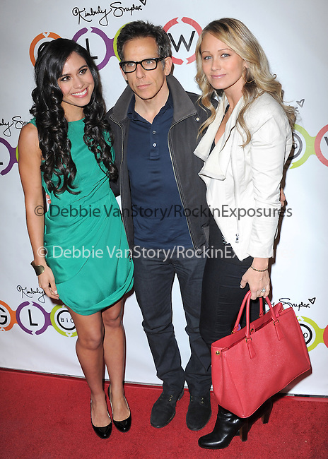 Kimberly Snyder,Ben Stiller & Christine Taylor attends The Opening of Kimberly Snyder's Glow Bio in West Hollywood in West Hollywood, California on November 14,2012                                                                               © 2012 DVS / Hollywood Press Agency