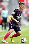 FC Barcelona's Denis Suarez during La Liga match. September 24,2016. (ALTERPHOTOS/Acero)
