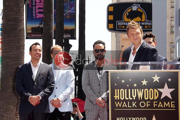 "Howie Dorough, Brian Littrell, AJ McLean, Nick Carter<br /> at the ""Backstreet Boys"" Star on the Walk of Fame, Hollywood, CA 04-22-13<br /> David Edwards/Dailyceleb.com 818-249-4998"