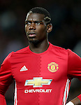 Paul Pogba of Manchester United during the UEFA Europa League match at Old Trafford Stadium, Manchester. Picture date: September 29th, 2016. Pic Matt McNulty Sportimage