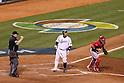 Shinnosuke Abe (JPN), .MARCH 17, 2013 - WBC : .World Baseball Classic 2013 .Championship Round .Semifinal 1 .between Puerto Rico 3-1 Japan .at AT&T Park in San Francisco, California, United States. .(Photo by YUTAKA/AFLO SPORT)