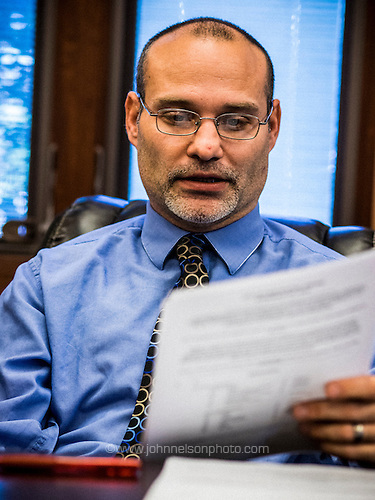 Christopher Anderson, mayor of Lake Station, Ind., wants to sell the city's water system to pay off loans and shore up the budget.