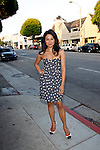 Karen David.Marvel Artworks Party.Every Picture Tells A Story Gallery.Santa Monica, California.29 July 2009.Photo by Nina Prommer/Milestone Photo