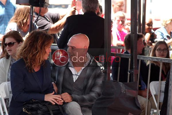 Susie Fogelson, Michael Symon at the Bobby Flay Hollywood Walk of Fame Ceremony, Hollywood, CA 06-02-15<br /> David Edwards/DailyCeleb.com 818-249-4998