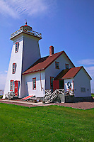 Lighthouse near ferry Prince Edward Island; Canada