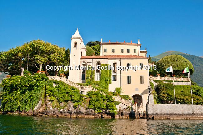 Villa Balbianello on Lake Como, Italy