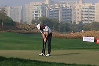 David Howell (ENG) in action on the 11th during Round 2 of the Hero Indian Open at the DLF Golf and Country Club on Friday 9th March 2018.<br /> Picture:  Thos Caffrey / www.golffile.ie<br /> <br /> All photo usage must carry mandatory copyright credit (&copy; Golffile | Thos Caffrey)