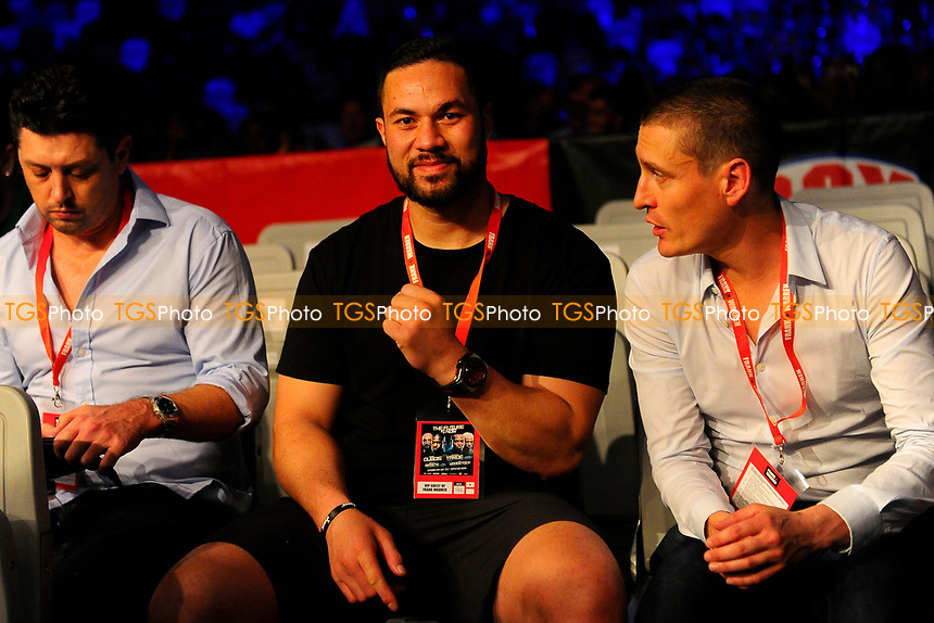 Joseph Parker during a Boxing Show at the Copper Box Arena on 8th July 2017