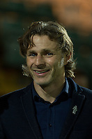 Wycombe Wanderers Manager Gareth Ainsworth during the Sky Bet League 2 match between Yeovil Town and Wycombe Wanderers at Huish Park, Yeovil, England on 24 November 2015. Photo by Andy Rowland.