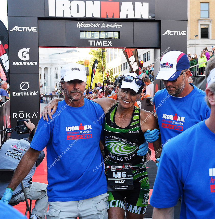 2015 Ironman competition on Sunday, September 13, 2015 in Madison, Wisconsin
