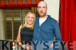 Adelina Baxter and Shane O'Neill from Tralee enjoying the evening in Cassidys on Caturday.