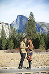 Surprise Proposal in Yosemite National Park, <br />