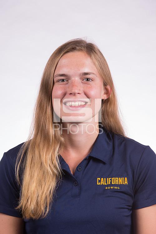 BERKELEY, CA - September 12, 2016: Cal Women's Rowing portraits.
