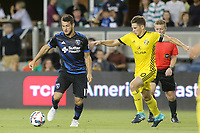 "San Jose, CA - Saturday August 05, 2017: Valeri Qazaishvili ""Vako"" during a Major League Soccer (MLS) match between the San Jose Earthquakes and the Columbus Crew at Avaya Stadium."