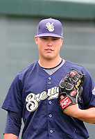 Jimmy Nelson - Helena Brewers, 2010 Pioneer League.Photo by:  Bill Mitchell/Four Seam Images..
