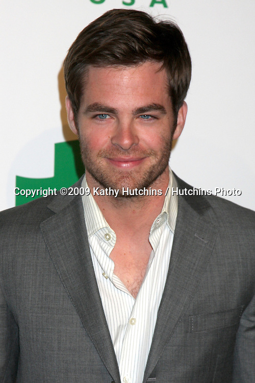 Chris Pine arriving at the Global Green USA's 6th Annual Pre-Oscar Party  at  Avalon in.Hollywood, CA on.February 19, 2009.©2009 Kathy Hutchins / Hutchins Photo...                .