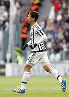 Calcio, Serie A: Juventus vs Carpi. Torino, Juventus Stadium, 1 maggio 2016.<br /> Juventus' Hernanes celebrates after scoring during the Italian Serie A football match between Juventus and Carpi at Turin's Juventus Stadium, 1 May 2016.<br /> UPDATE IMAGES PRESS/Isabella Bonotto