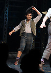 Aaron J. Albano.during the 'NEWSIES' Opening Night Curtain Call at the Nederlander Theatre in New York on 3/29/2012
