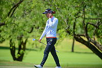 So Yeon Ryu (KOR) follows her putt toward the hole on 1 during round 4 of  the Volunteers of America Texas Shootout Presented by JTBC, at the Las Colinas Country Club in Irving, Texas, USA. 4/30/2017.<br /> Picture: Golffile | Ken Murray<br /> <br /> <br /> All photo usage must carry mandatory copyright credit (&copy; Golffile | Ken Murray)