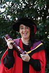 20/1/2015   (with compliments)  Attending the University of limerick conferrings on Monday morning was PHD graduate Regina Sayers, Carrignavaar, Co. Cork.<br /> Picture Liam Burke/Press 22