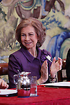 Queen Sofia of Spain attends the CREFAT Foundation Awards at Zarzuela Palace in Madrid.November 06, 2012.(ALTERPHOTOS/Harry S. Stamper)