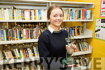 Karen Stapleton a TY student at Colaiste na Sceilge wins the National Newspapers Press Pass for best Features Category.