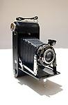 Ensign folding camera.