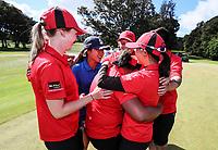 Canterbury. Day Four of the Toro Interprovincial Women's Championship, Sherwood Golf Club, Whangarei,  New Zealand. Friday 8 December 2017. Photo: Simon Watts/www.bwmedia.co.nz