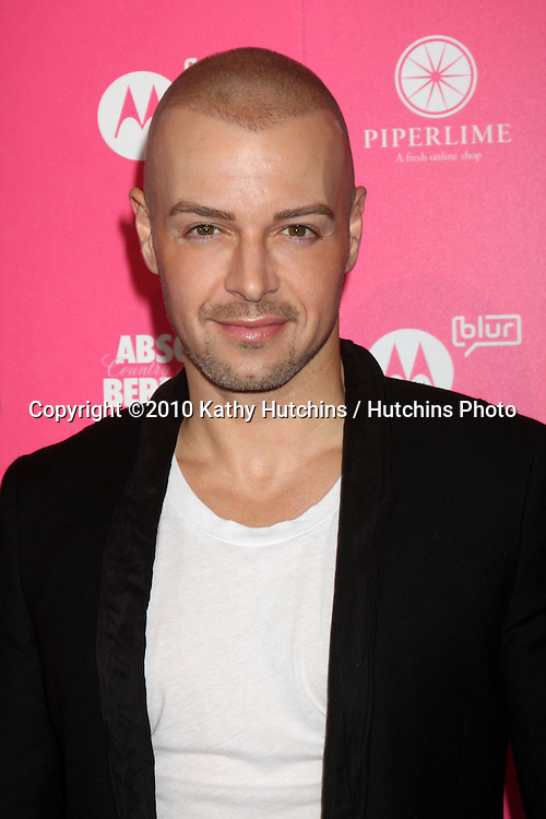 Joey Lawrence.arrives at the US Weekly Hot Hollywood Party 2010.Drai's at the W Hotel Hollywood.Los Angeles, CA.April 22, 2010.©2010 Kathy Hutchins / Hutchins Photo...