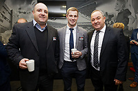 Pictured: Lee Merrells (R). Thursday 05 December 2019<br /> Re: CBN networking event at the Liberty Stadium, Swansea, Wales, UK.