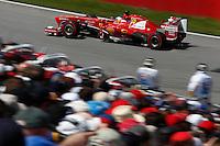 MONTREAL, CANADA, 09.06.2013 - F1 - GP DO CANADÁ - O piloto espanhol Fernando Alonso da equipe Ferrari durante o Grande Premio de Montreal de Formula 1, no Canadá neste domingo, 09. (Foto: Pixathlon / Brazil Photo Press).
